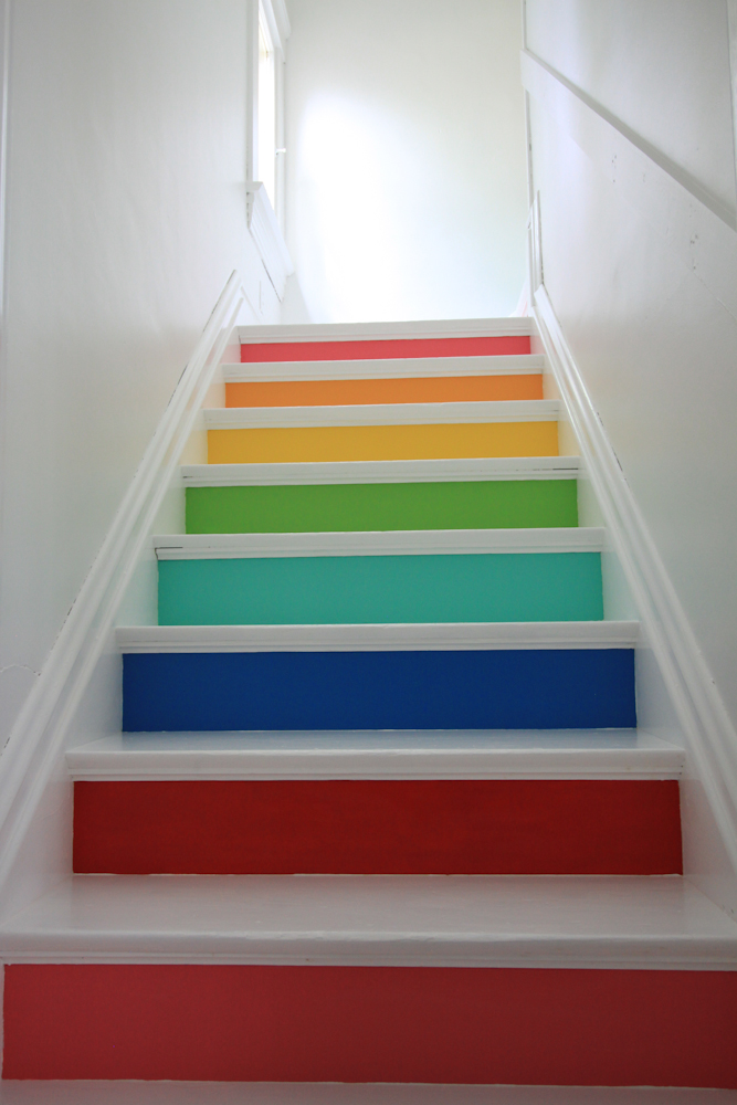 Rainbow Stairs 187 Whatever