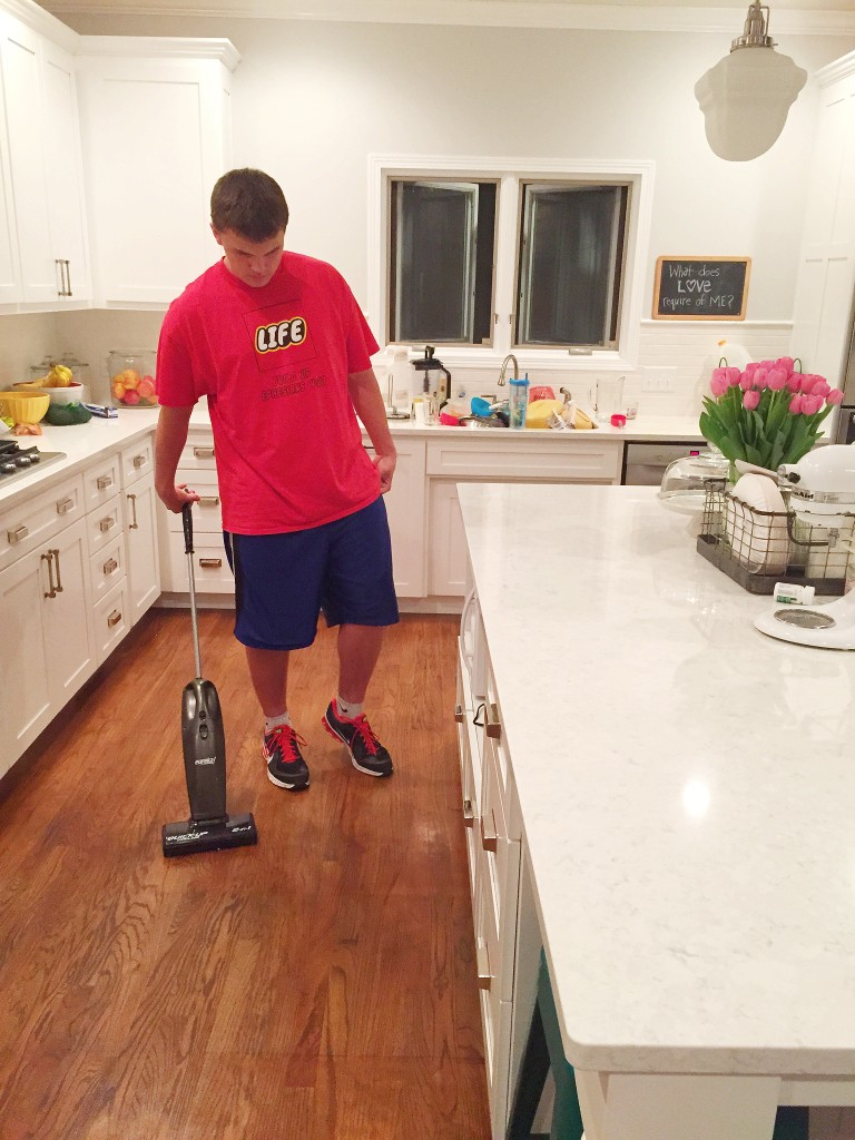 Kitchen Floor Vacuum Cleaning Our Kitchen A Whatever