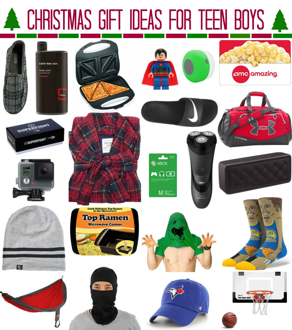 Christmas Gift Ideas for Teen Boys » whatever