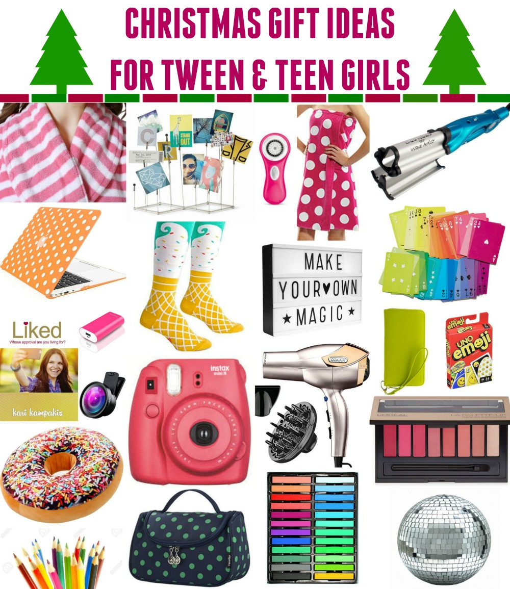 christmas ideas for teens tween girls whatever
