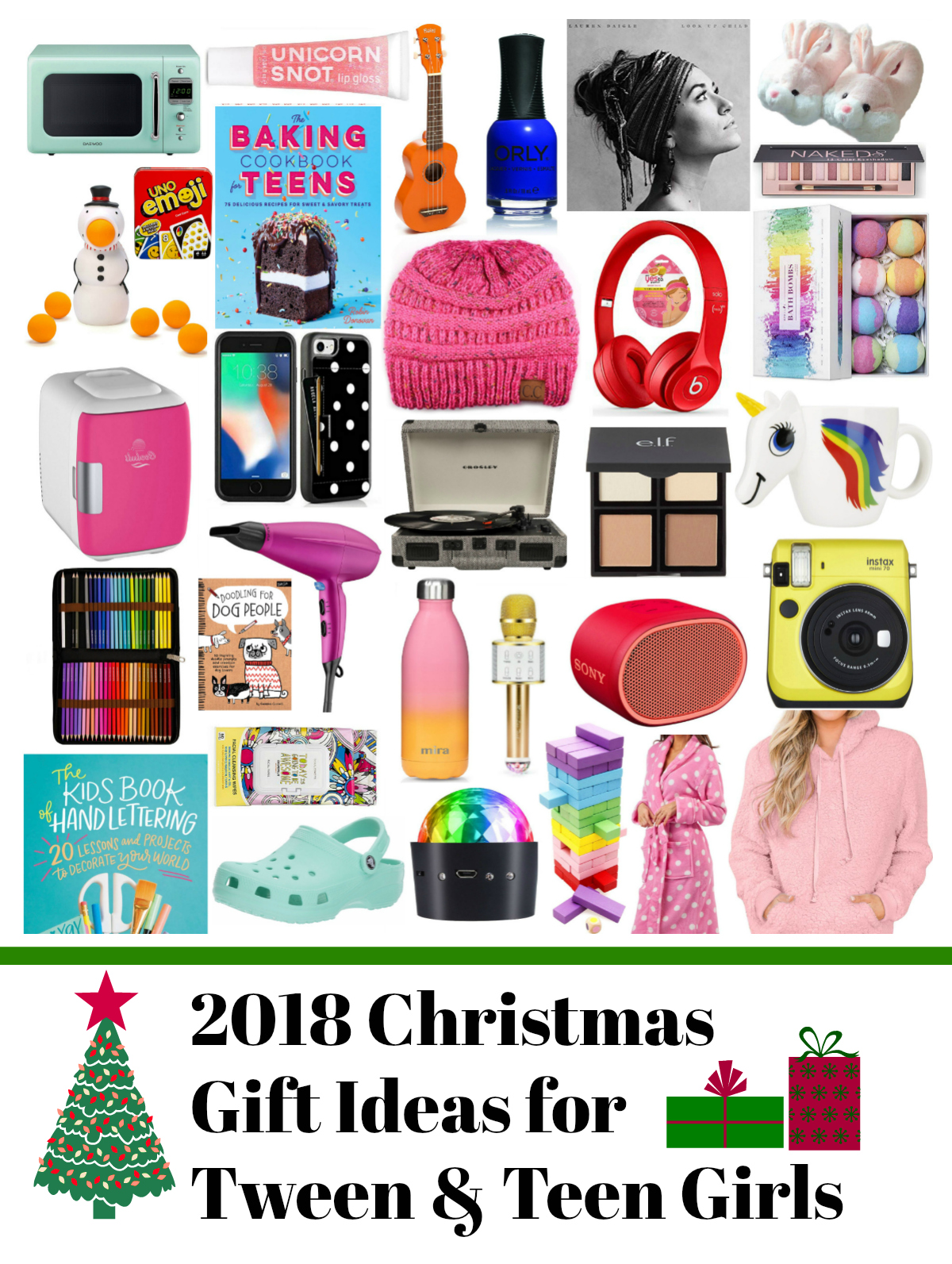 GIFT LIST – TwEEN & TEEN GIRLS » whatever